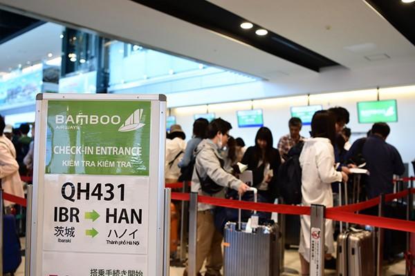 Bamboo Airways đưa những vị khách đầu tiên đến Nhật Bản ảnh 1