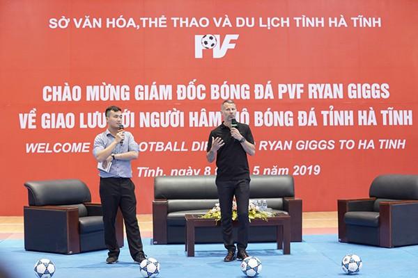 Sự xuất hiện của Ryan Giggs từ PVF với mô hình hợp tác và phát triển bóng đá tại Nghệ An, Hà Tĩnh được kỳ vọng sẽ được nhân rộng tại các địa phương trên cả nước.