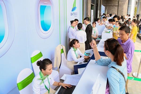 """Dự kiến những ngày tiếp theo, chương trình vẫn sẽ hút khách vì nhiều gói ưu đãi tiếp tục được tung ra như """"Bamboo Airways - 265k bay đâu cũng thích"""", """"Bamboo Airways – 599k thoải mái bay xa""""."""