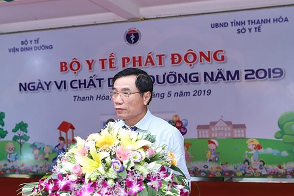 Đồng chí Phạm Đăng Quyền – Phó Chủ tịch UBND tỉnh Thanh Hóa cam kết tỉnh Thanh Hóa sẽ tiếp tục cải thiện và đẩy mạnh việc bổ sung vi chất cho cộng đồng tại địa phương.
