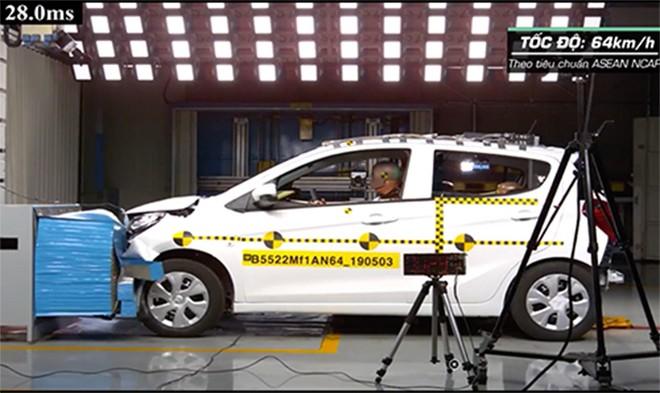 Fadil khi thử nghiệm tại trung tâm của General Motors Hàn Quốc. Ảnh chụp màn hình.