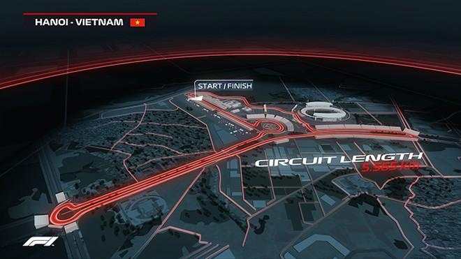 Đường đua F1 Việt Nam là giấc mơ và mục tiêu mà Doug Phạm hướng tới trong tương lai.