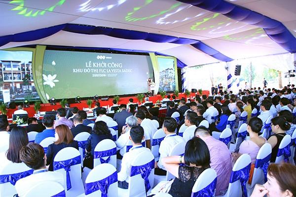 Sự kiện diễn ra trang trọng với sự tham dự của nhiều lãnh đạo cấp cao tỉnh Đồng Tháp, lãnh đạo nhiều tỉnh thành phía Nam và đông đảo nhân dân địa phương