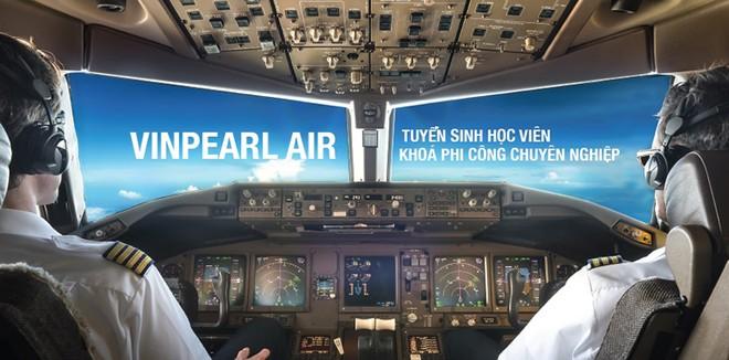 Vinpearl Air thông báo tuyển sinh phi công và kỹ thuật bay khoá 1