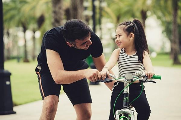 Cha mẹ an tâm khi cho con trẻ vui chơi tại đại đô thị thông minh