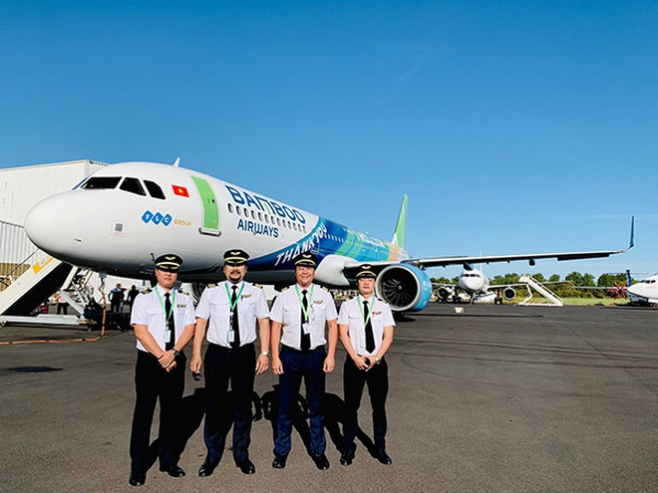 Bamboo Airways được phê chuẩn giáo trình huấn luyện phi công từ Cục HKVN