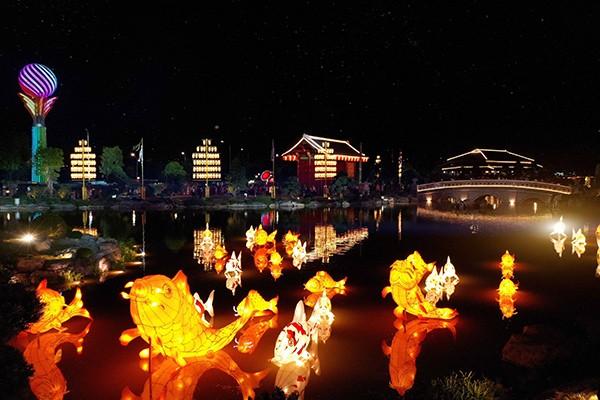 """Vườn Nhật tuyệt mỹ rộng 6 ha được thi công chỉ trong 3 tháng và trở thành """"kỳ quan"""" của Vinhomes Smart City"""