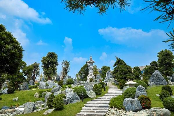 """Khu vườn Nhật 6,1ha được coi là """"kỳ quan"""" của đại đô thị Vinhomes Smart City"""
