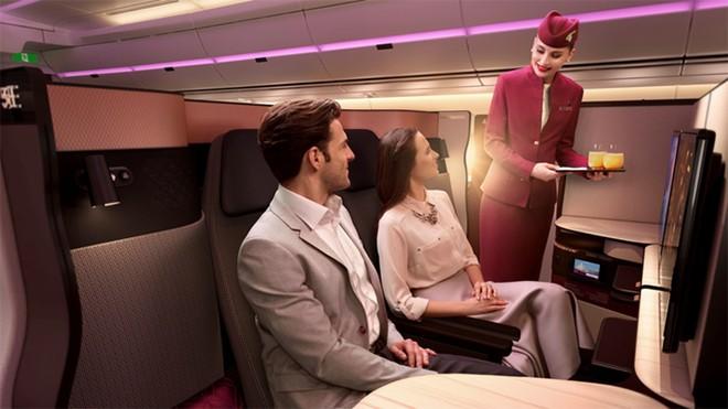 Hạng Q-suite business class của Qatar Airways