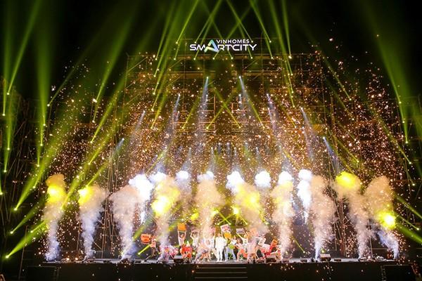 Đại tiệc âm thanh – ánh sáng trên sân khấu vườn Nhật Vinhomes Smart City