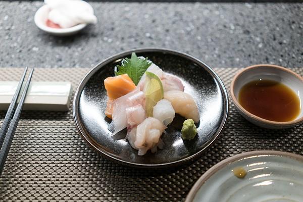 Sashimi cá lù đù