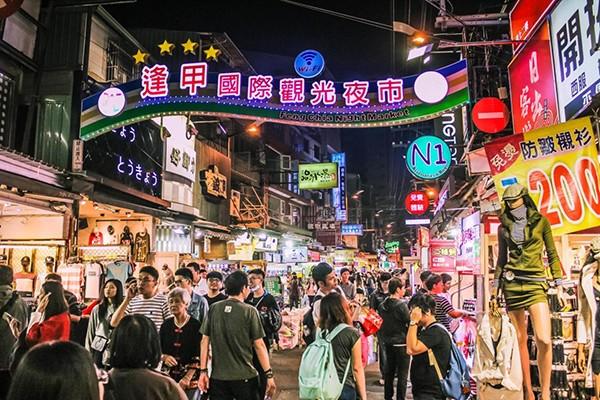 Chợ đêm Fengjia (Phùng Giáp) tại Đài Trung