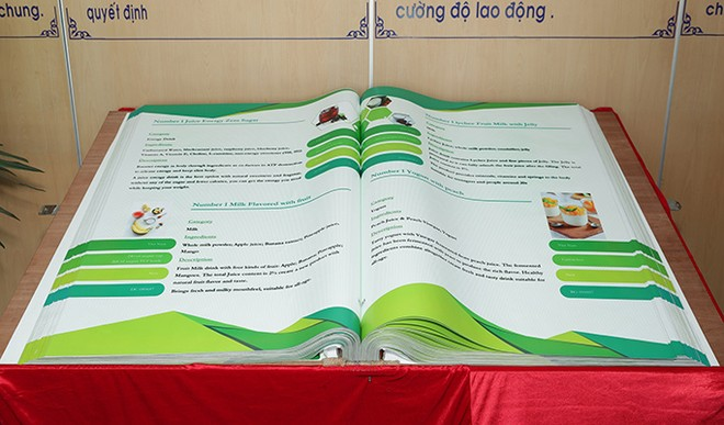 Cuốn sách THP Innnovation đã ghi chép lại 899 sáng tạo về sản phẩm, mỗi sản phẩm được phân bổ ngành hàng, giới thiệu thành phần và mô tả về sản phẩm
