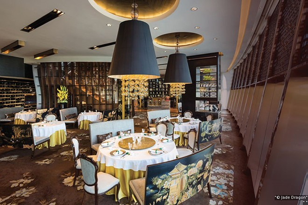 """Trải nghiệm cảm giác """"hoàng gia"""" tại nhà hàng Jade Dragon đạt 3 sao Michelin"""