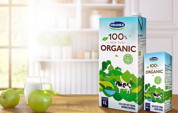 Cuối năm 2016 sữa tươi Vinamilk 100% Organic chính thức được ra mắt thị trường
