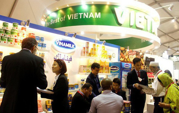 Sản phẩm của Vinamilk đã được xuất khẩu đi 43 quốc gia và vùng lãnh thổ