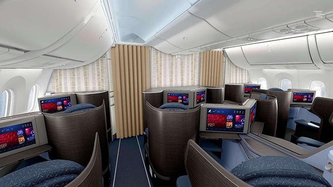 Hệ thống giải trí hiện đại trên khoang hạng Thương gia của Bamboo Airways
