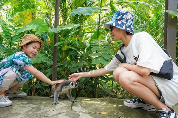 """Dàn sao Việt """"đại náo"""" Vinpearl Land và Safari Phú Quốc"""