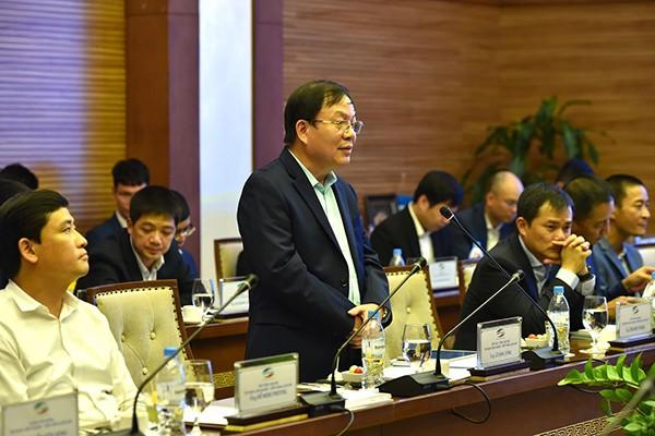Thiếu tướng Lê Đăng Dũng - Quyền Chủ tịch kiêm Tổng Giám đốc Tập đoàn Viettel phát biểu