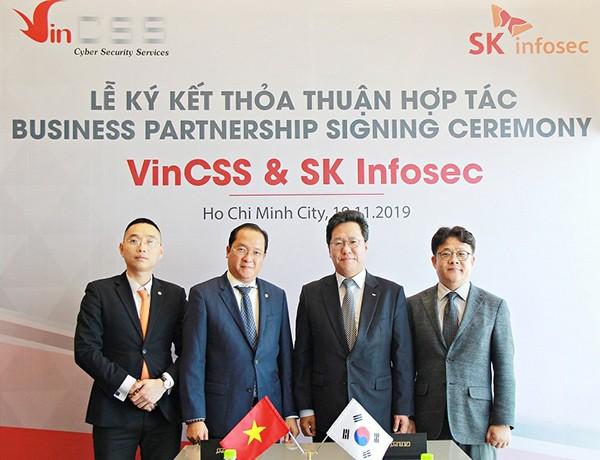 Hợp tác này là tiền đề để VinCSS có thể nhanh chóng cung cấp dịch vụ an ninh mạng ở đẳng cấp quốc tế cho thị trường Việt Nam và khu vực