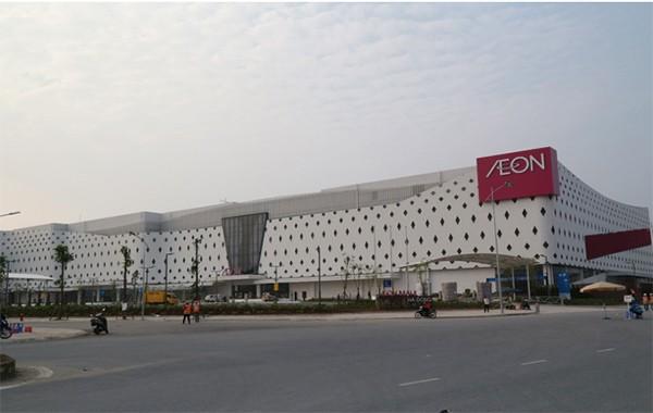 Aeon Mall Hà Đông vừa mới khai trương
