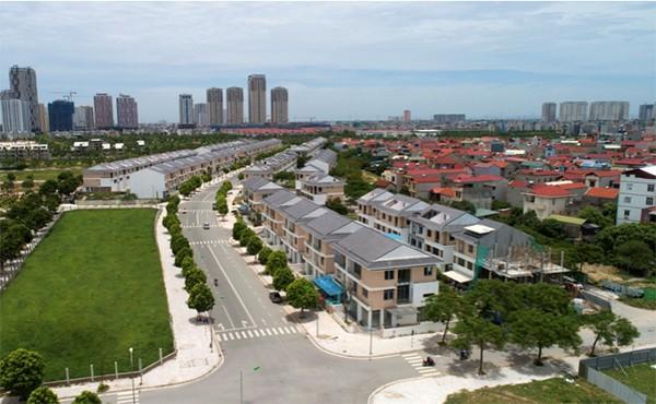 Tuyến đường rộng 27m nâng cao giá trị kinh doanh của An Phú shop-villa