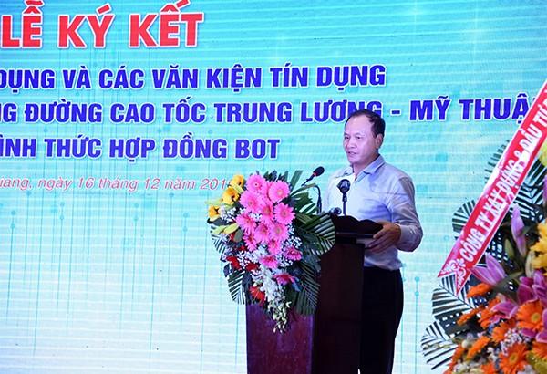 Dự án cao tốc Trung Lương - Mỹ Thuận: Sự vào cuộc trách nhiệm của các ngân hàng ảnh 1