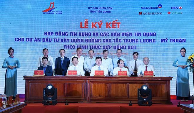 VietinBank đầu mối thu xếp gần 7.000 tỷ đồng cho dự án giao thông Trung Lương - Mỹ Thuận