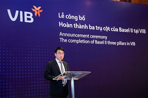 Ông Trần Đăng Phi – Phó Chánh Thanh tra Ngân hàng Nhà nước phát biểu