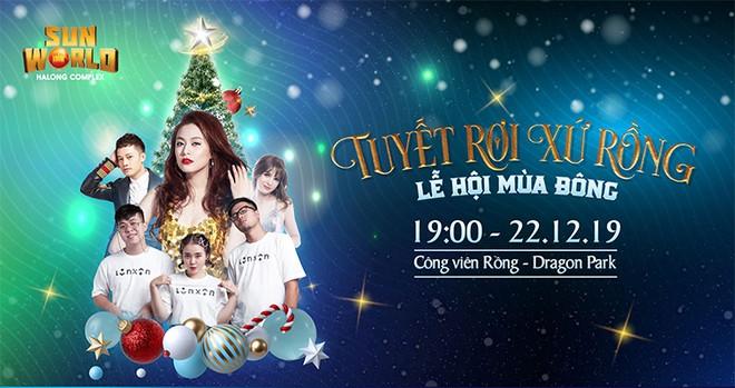 Giáng sinh này về Hạ Long quẩy tưng bừng với đêm nhạc Giáng sinh tại Dragon Park