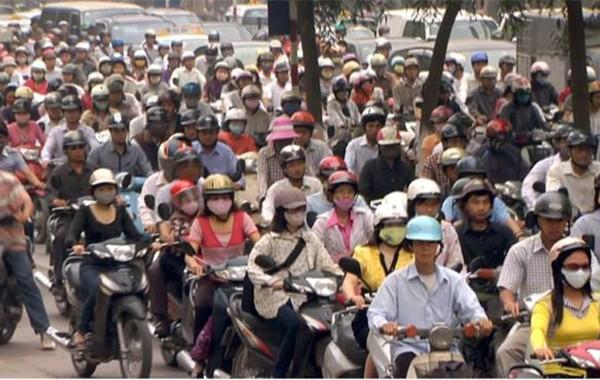 Xe máy điện: Giải pháp đối phó với ô nhiễm không khí