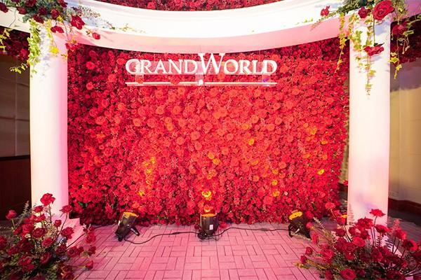 Khu vườn tình yêu lãng mạn - Love Garden tại Grand World Phú Quốc