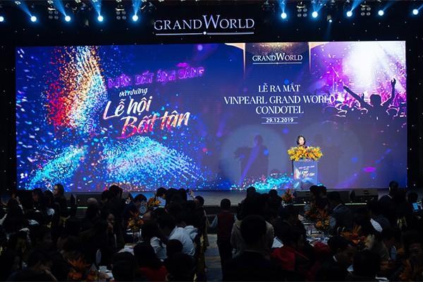 Giá trị thật và lợi nhuận thật của Vinpearl Grand World Condotel được bảo chứng bởi thương hiệu uy tín Vinpearl