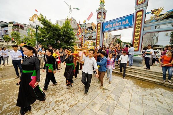 Lễ hội đền thờ Ông Hoàng Bảy