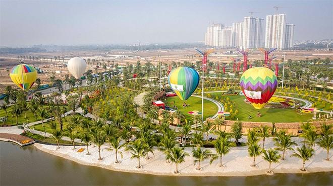 Ngắm TP.Hồ Chí Minh với góc nhìn 360 độ tuyệt đẹp từ khinh khí cầu là trải nghiệm tuyệt vời