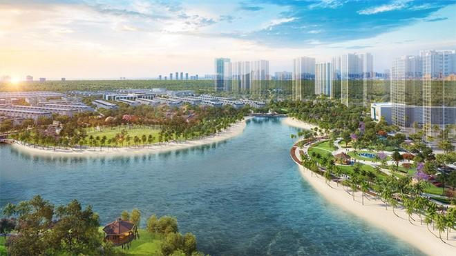 Thành phố công viên bên sông mang âm hưởng của một Singapore thu nhỏ tại Vinhomes Grand Park