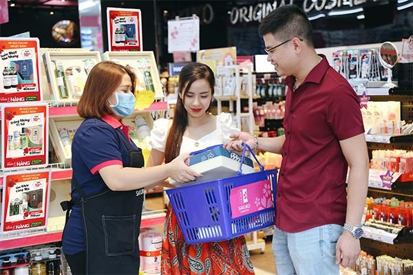 Hộp quà tặng mỹ phẩm tại siêu thị hàng Nhật nội địa được khách hàng yêu thích lựa chọn