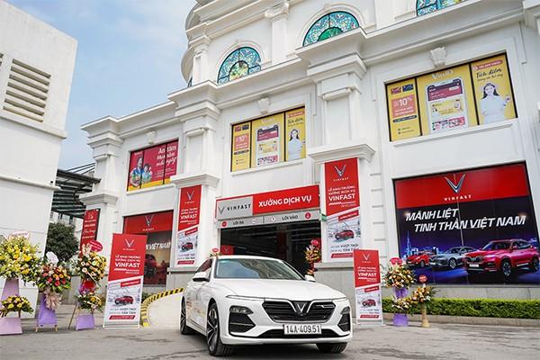 Đến cuối năm 2020, VinFast sẽ trở thành hãng xe duy nhất trên thị trường có điểm bảo hành, sửa chữa xe ở tất cả các tỉnh thành, hướng tới mục tiêu là hãng xe chăm sóc khách hàng tốt nhất Việt Nam