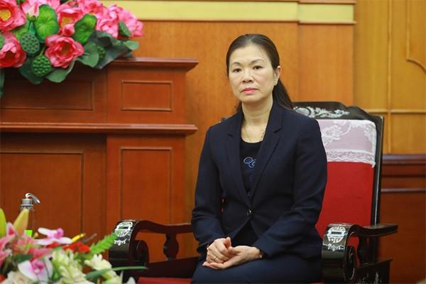Bà Trương Thị Ngọc Ánh - Phó Chủ tịch Trung ương MTTQ Việt Nam