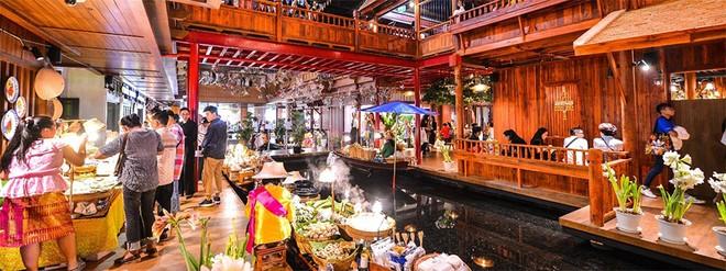 Khu food court nổi tại Grand World sẽ là nơi để du khách thưởng thức các nền văn hóa ẩm thực đặc sắc nhất (Ảnh minh họa)
