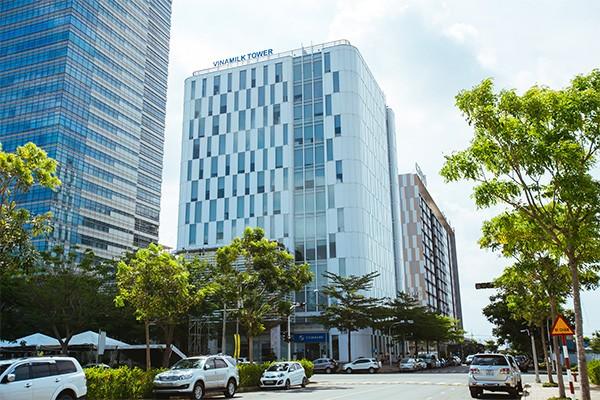 Trụ sở Công ty Vinamilk tại TP. Hồ Chí Minh