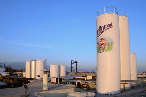 Được thành lập từ năm 1920, nhà máy sữa Driftwood đã có lịch sử 100 năm hình thành và phát triển tại bang California, Mỹ