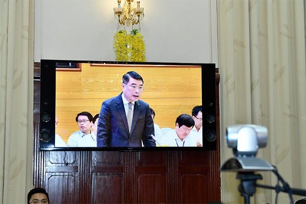 Thống đốc NHNN Việt Nam Lê Minh Hưng phát biểu tại hội nghị