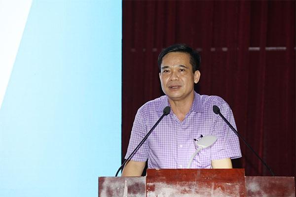 Ông Trần Đăng Khoa, Phó Vụ trưởng Vụ sức khỏe bà mẹ và trẻ em (Bộ Y tế) chia sẻ về ý nghĩa chương trình Sữa học đường