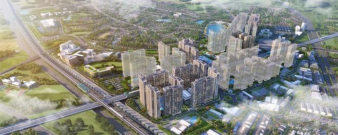 Ảnh tổng thể dự án Vinhomes Smart City