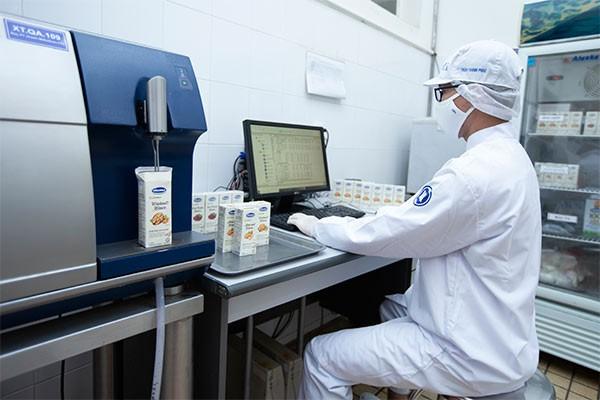 Các sản phẩm được kiểm tra, kiểm soát nghiêm ngặt về chất lượng để đáp ứng các tiêu chuẩn khắt khe của thị trường Hàn Quốc