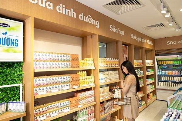 Bộ sản phẩm sữa đậu nành hạt của Vinamilk thu hút được người tiêu dùng trong nước chỉ trong một thời gian ngắn ra mắt thị trường