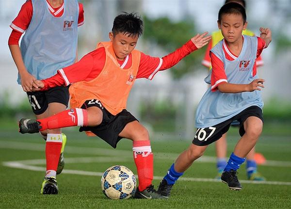 Trở thành học viên PVF là mơ ước của nhiều cầu thủ. Nhưng đây chỉ là bước khởi đầu. Mỗi cầu thủ trẻ phải không ngừng nỗ lực phấn đấu, rèn luyện