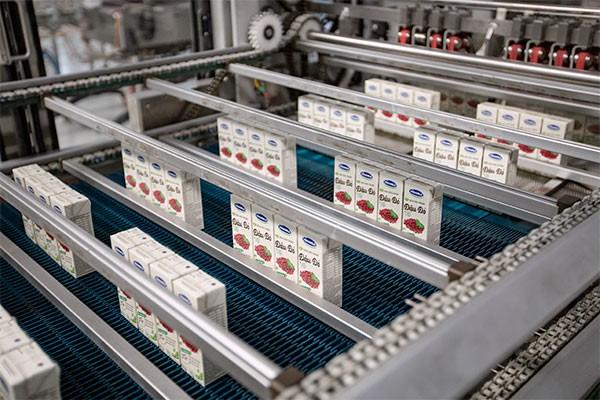 Dây chuyền sản xuất sản phẩm sữa đậu nành hạt trong nước và xuất khẩu tại nhà máy hiện đại của Vinamilk