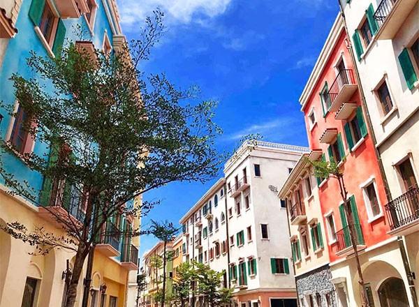Dự án Sun Premier Village Primavera mang màu sắc Địa Trung Hải đang dần hoàn thiện